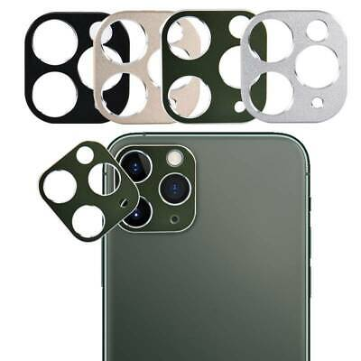 For iPhone 11 Pro Max Back Camera Metal Lens Screen Protector Case Ring Cover US
