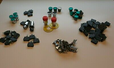 Job Lot Schneider Electric Harmony XB4 Switches Push Button LED Pilot Stop