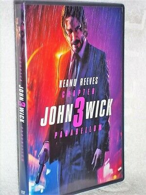 John Wick Chapter 3 Parabellum (DVD, 2019) action Keanu Reeves Halle Berry Ian M