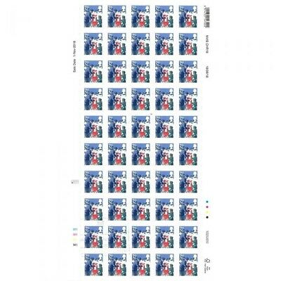100 x 2nd Class Royal Mail Xmas stamps RRP £61 - Special Offer