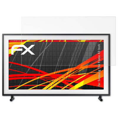 atFoliX Protective Film voor Samsung The Frame 43 Inch HD antireflectie