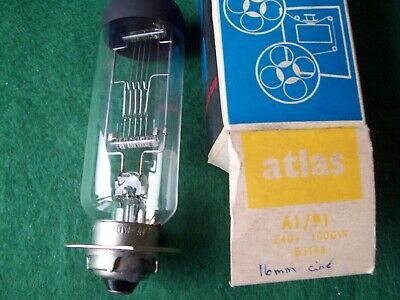 Atlas A1/91  240V 1000W Projection Lamp/Bulb. New (Old Stock)