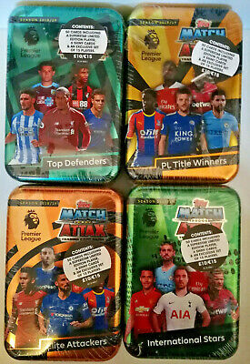 Match Attax 2018/19 18/19 Mega Tins Title Winner Elite Attackers Top Defenders..