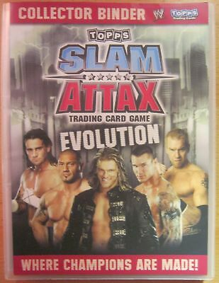WWE WWF 2010 Topps Slam Attax Evolution  Trading Card Set + LE Cards + Tins