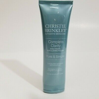Christie Brinkley Complete Clarity Daily Facial Exfoliating Polish Pure Simple