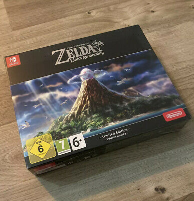 💥 Legend Of Zelda Link's Awakening Limited Edition 💥 Nintendo Switch 💥