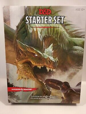 Pre Owned Dungeons And Dragons Starter NO DICE Fantasy Roleplaying DD