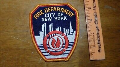 NEW YORK CITY FIRE DEPARTMENT NYCFD  PATCH ~bx v #151