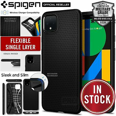 Google Pixel 4 XL Case, Genuine Spigen Liquid Air Armor Slim Cover for Google