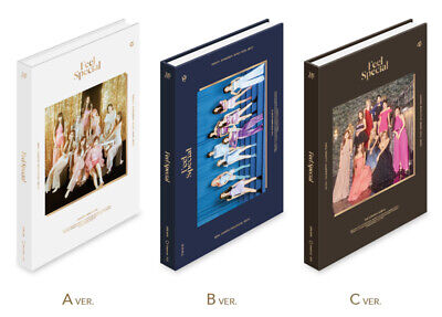 TWICE - Feel Special [A+B+C ver. SET] 3CD+Photobook+Poster+Free Gift+Tracking no