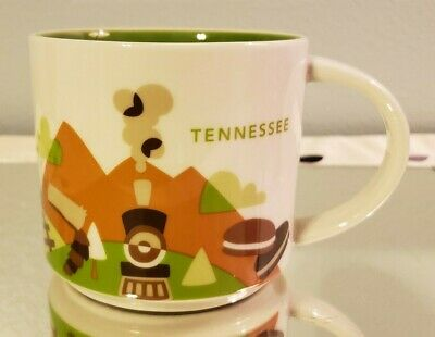 Starbucks Tennessee You Are Here Collection Mug 2015