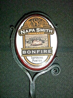 Napa Smith - Bonfire - Imperial Porter - Beer Tap Handle