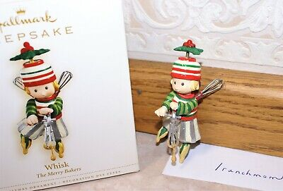2006 Hallmark Ornament WHISK The Merry Bakers, Fills kitchen with laughter & Joy