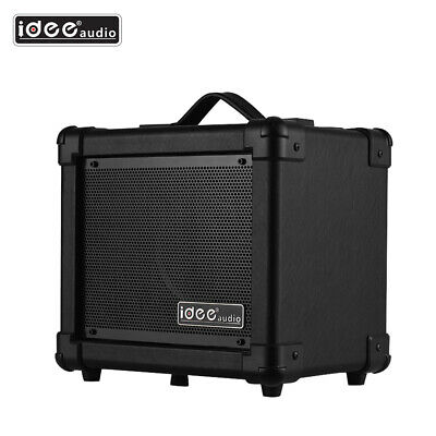 Electric Guitar Amp Amplifier Speaker 10W Powerful Sound Portable With BT F9E9