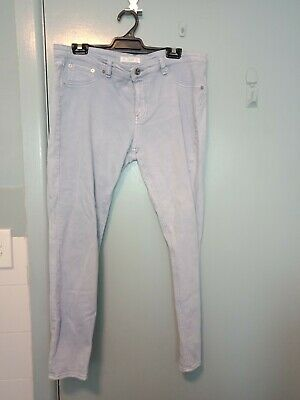 Seed pale blue jeans in size 14