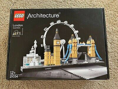 2017 Used LEGO Architecture London 21034 Skyline Collection Building Bricks