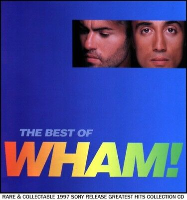 Wham - Very Best Essential Greatest Hits Collection 80's Pop CD George Michael