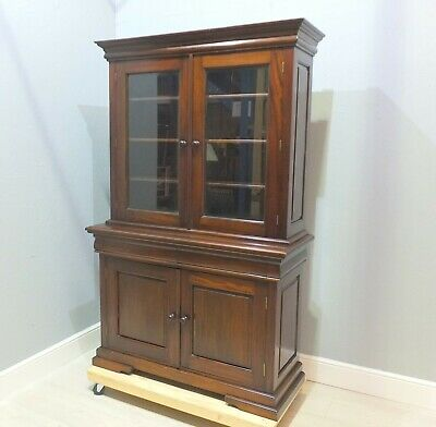 Quality Victorian Style Mahogany Library Bookcase     (28)