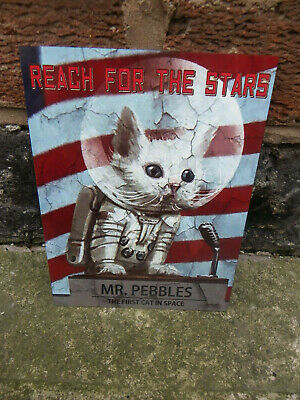 Fallout Mr Pebbles Vintage Style Metal Sign