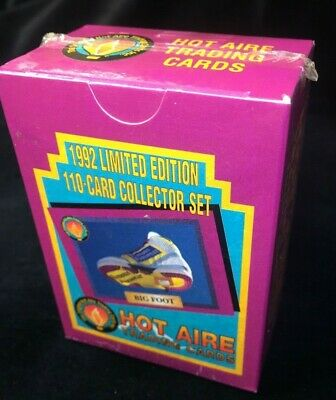 1992 Limited Edition 110 Card Collector Set Hot Aire Trading Cards *Sealed *New*