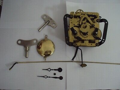 Vintage SETH THOMAS A208-001 BANJO CLOCK MOVEMENT. Pendulum,arms,key,Complete