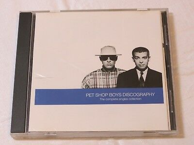Discography: The Complete Singles Collection by Pet Shop Boys CD Nov-1991 EMI