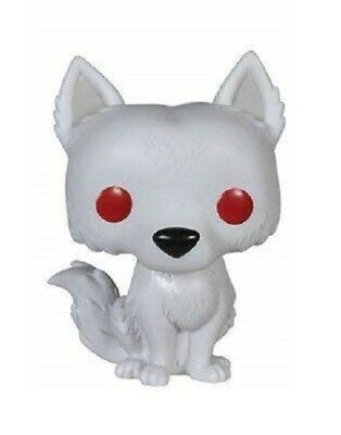 FLAWED BOX Game of Thrones Ghost POP Vinyl Figure FUNKO