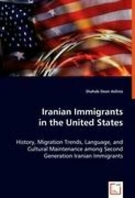 Dean Aslinia, Shahab: Iranian Immigrants in the United States