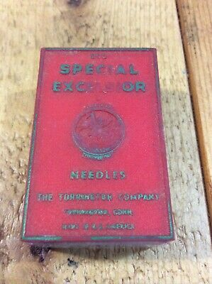 Vintage NOS Excelsior Torrington Singer Sewing Machine Needles 128x21 Size 15