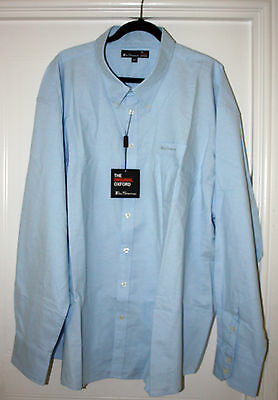 Ben Sherman Oxford Long Sleeve Shirt Light Blue Size 4X New With Tags