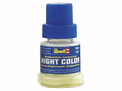 Night Color Luminous Paint FInish Bottle - Finitura Vernice Fosforescente 30ml