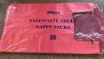 100 Sacks x 10 packs Robinson Nappy Sacks