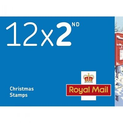50x12 (600 stamps)2nd Second Class Xmas Stamps Special Offer Worth £366