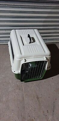 Zooplus Dog Crate and Pet Transport crate By Rail Car Size Small