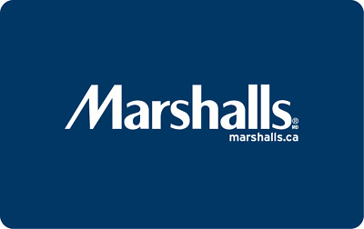 Marshalls Gift Card $25, $50, or $100 - Email Delivery