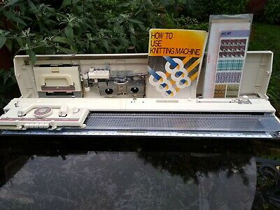 Brother kh890 punchcard  knitting machine, fully serviced and tested, very nice