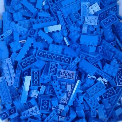 Plates LEGO 4oz 1//4 lb pound Bulk Lot Medium Azure Bricks Specialty Plus More