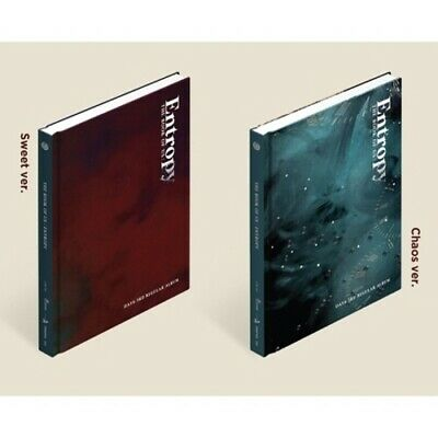 Day6[The Book Of Us:Entropy]3rd Album CD+Poster+PhotoBook+Card+etc+PreOrder+Gift