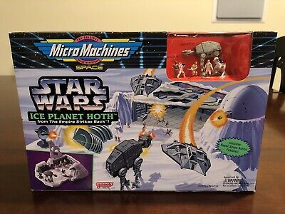 Micro Machines Star Wars Action Fleet Ice Planet Hoth 1995 Galoob New
