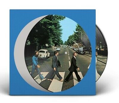 The Beatles Abbey Road 50th Anniversary limited edition vinyl LP PICTURE DISC NE