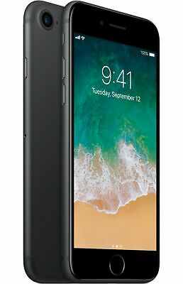 Apple iPhone 7 (A1660) 32GB Black Unlocked for International GSM/CDMA Smartphone