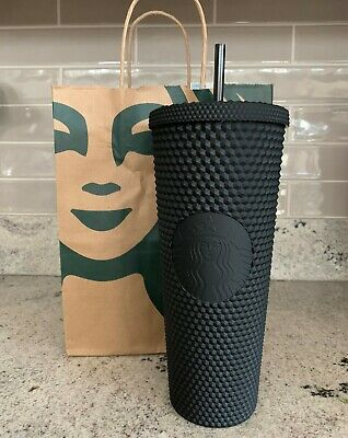 Fall 2019 Halloween Starbucks Matte Black Studded Tumbler Cup Limited Edition