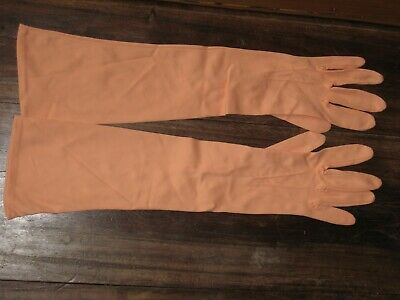 Vintage Ladies Long Sleeve Gloves Size 7