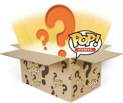 Funko Pop Mystery Boxes! Chase, Exclusives & Commons!