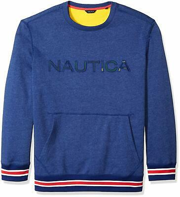 Nautica Men's Big and Tall Long Sleeve Crew Neck F - Choose SZ/color