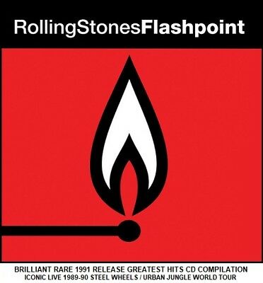 The Rolling Stones - A Very Best Greatest Hits Collection - RARE 1991 Live CD