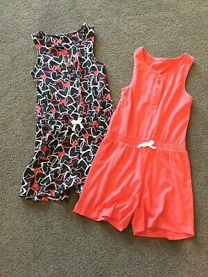 Set Of 2 George Asda Girl's Shorts Playsuits - 5-6 Years