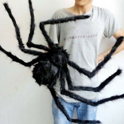 75CM Big Giant- Spider Halloween Haunted House Horror Props Outdoor Party Decors