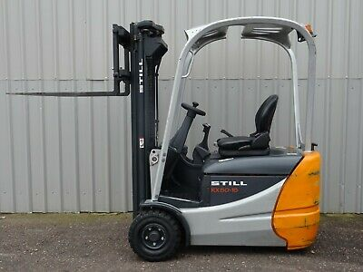 STILL Rx50-15. USED 3W ELECTRIC FORKLIFT TRUCK. (#2602)