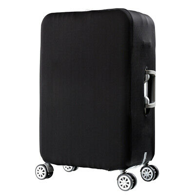 "19-32"" Elastic Luggage Suitcase Bag Dustproof Cover Protector Anti Scratch Black"